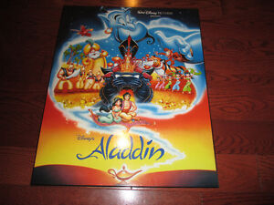 Aladdin board poster new condition Kitchener / Waterloo Kitchener Area image 1