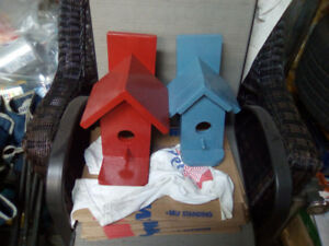 Wrenches,bird houses,truck parts