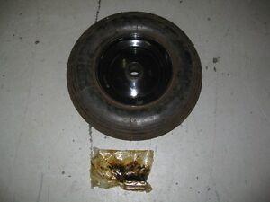 5 New complete Tubeless Wheelbarrow Tire Assemblies
