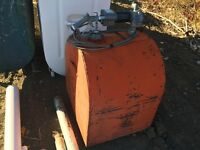 Diesel Fuel Tank with Pump