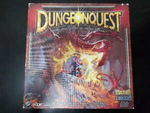 Dungeonquest 3rd Edition Board Game (French)