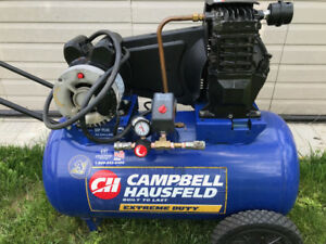 Air Compressor Campbell Hausfeld. Made USA