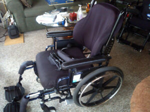 Wheel Chair.  Invacare 9000XT.