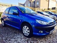 ★🎈WEEKEND SALE🎈★ 2003 PEUGEOT 206 1.1 PETROL ★MOT JUL 2017★ ONLY 47K MILES ★ KWIKI AUTOS★