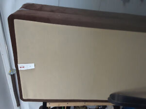 Two piece king box spring