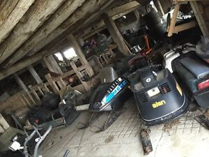 Old sleds