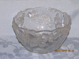 Bowl - with Embossed Flowers