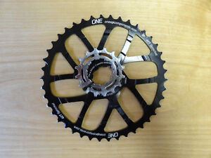 One up 10 speed 42t ring + 16T cog