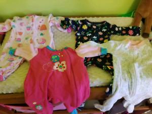 Lot vêtements bébé NB à 6 mois