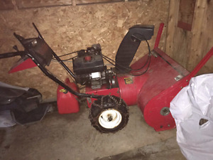 Yard machine snowblower