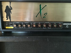 "Randall X2 Warhead amp and RS125CX 1X15"" + 2X12"" cabinet"