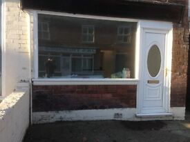 SHOP TO LET MAIN ROAD ,HASLAND CHESTERFIELD