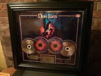 Disques double platine Don Juan Janvier 2004 ( Michel Gendron )