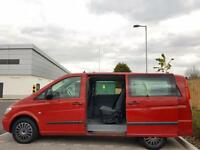 MERCEDES BENZ VITO 111 CDI LOW MILEAGE LARGE MPV MINIBUS 7 SEATER (LWB)