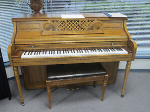 Two pianos for sale $2000 each including warranty, del & tuning!