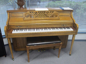 Two pianos for sale $2000 each incl warranty, del & tuning!