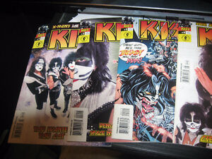 Kiss comic book 1 to 5 2002