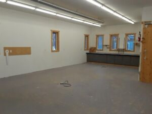 Versatile space for lease