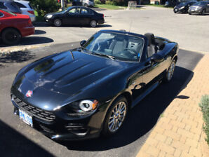 Convertible brand new 124 Fiat Spider
