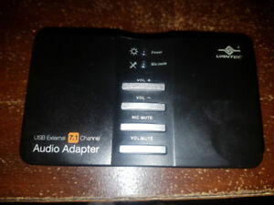 Vantec USB External 7.1 Channel Audio Adapter