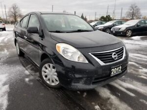 2012 Nissan Versa S 4dr Sdn 1.6 , Certified, Automatic