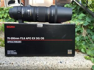 Sigma 70-200mm f/2.8 APO OS Lens for Nikon Mount