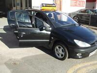 Peugeot 206 1.4 GLX AUTOMATIC 5 DR IN BLACK 65K MILES HISTORY 3 MONTHS WARRANTY