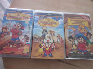 An American Tail Movies (set of 3 VHS)