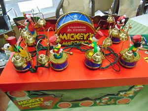 1994 Mr. Christmas Mickey Mouse Marching Band, Disney,