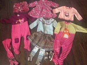 Lot de Vetements pour fille 6-12 mois