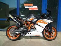 KTM RC125 RC 125, Learner Motorcycle, Excellent condition *12 Months MOT*