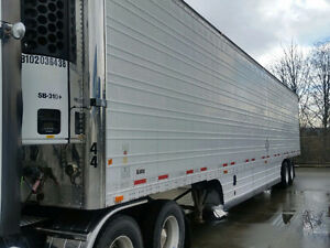 2010 Wabash 53' Refeer Thermoking 310 whisper low hours