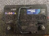 Unipart car battery