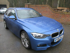 2013 (13) BMW 318D 2.0 M SPORT AUTOMATIC TOURING ESTATE & 1 OWNER