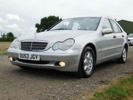 2003 53 Mercedes-Benz C180 Kompressor 1.8 AUTO Classic SE**TRADE BARGAIN**£790**