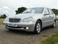 2003 53 Mercedes-Benz C180 Kompressor 1.8 AUTO Classic SE**TRADE BARGAIN**£790**