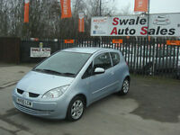 2006 MITSUBISHI COLT EQUIPPE 1.3L ONLY 94,403 MILES, FULL SERVICE HISTORY