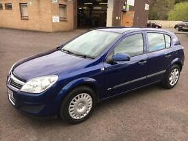 5707 Vauxhall Astra 1.6 16v 115ps Life Blue 5 Door 67759mls MOT 12m
