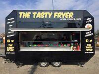Catering /burger / chip van trailer