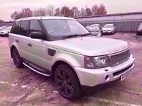 RANGE ROVER SPORT 2.7 TD V6 HSE AUTOMATIC 2006 / CAMBELT DONE / HAWKE EDITION / FULL SERVICE HISTORY