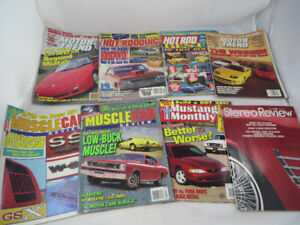 Hot Rod Car Magazines Motor Trend Muscles Car 1990's