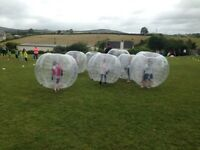 Zorb balls bouncy castle knockout games Futebol games