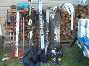 Assorted Downhill Skis