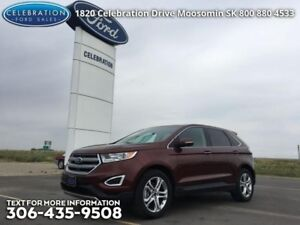 2015 Ford Edge Titanium  Fully Loaded, Certified!!