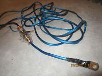 HEAVY DUTY FUSE WITH WIRE FOR A RADIO, ETC