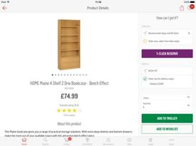 Shelf unit with drawers