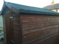7x5 ft watertight shed £75