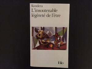 L'insoutenable légèreté de l'être  Kundera