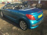 2007 PEUGEOT 207CC 1.6GT CONVERTIBLE..FULL MOT..PRICED TO CLEAR.. 07956-110 445