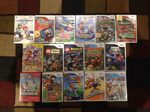 wii games / jeux wii